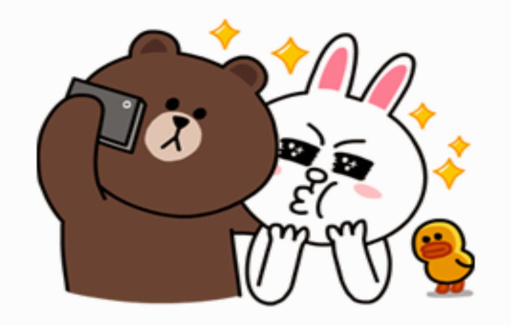 Update Gambar: Download Sticker Line Brown and Cony