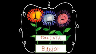 IEP Binder + Data Collection