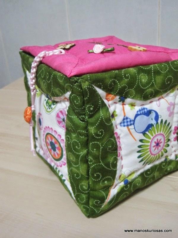 caja patchwork