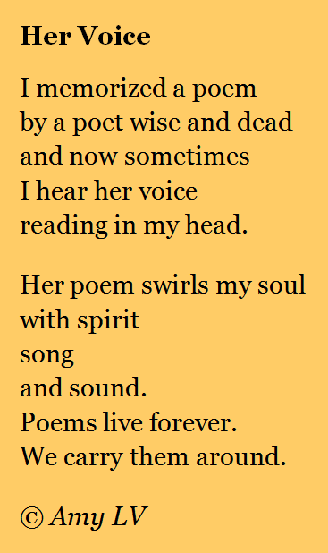 you are poems for her