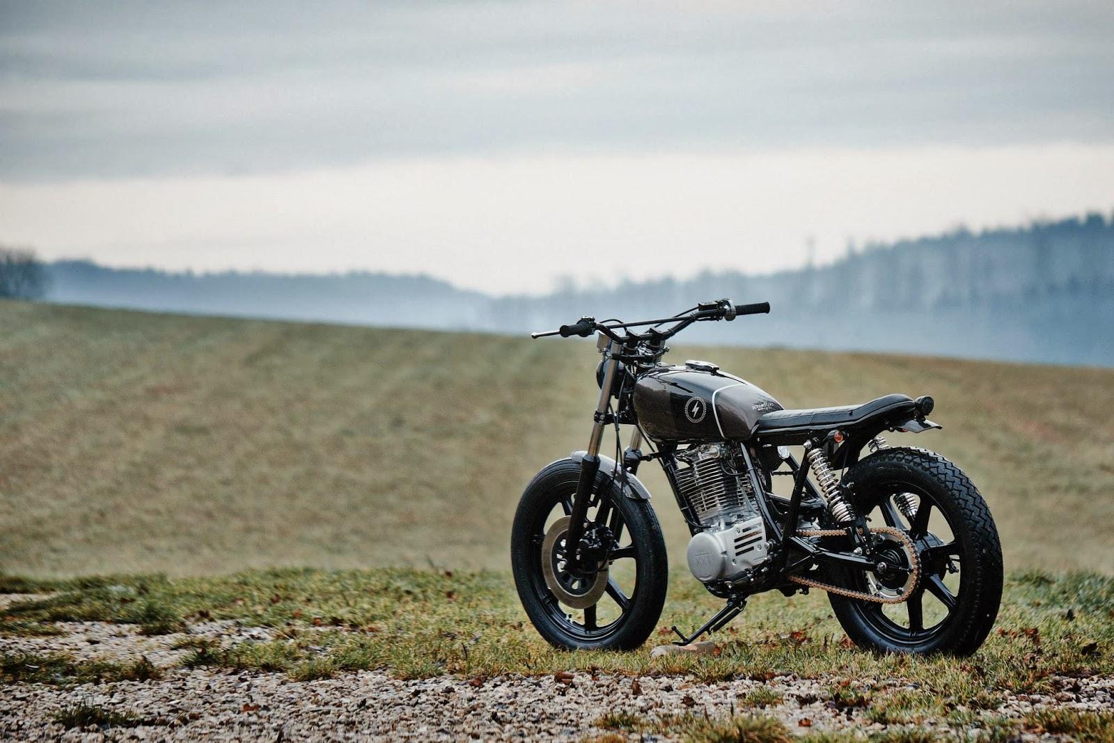 Racing Caf U00e8  Yamaha Sr  U0026quot Krad Xx1 U0026quot  By Scramblers Motorcycles