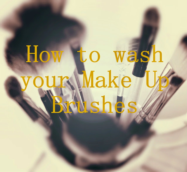 How to wash your make up brushes - wash make up brushes - Washing brushes - cleaning make up brushes - cleaning brushes - baby shampoo - how to clean your brushes - at home - DIY - Beauty Basics - Spring cleaning your make up - clean your brushes