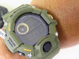 CASIO G-SHOCK RANGEMAN GREEN MILITARY GW-9400-3DR - TRIPLE SENSOR