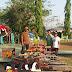 PERINGATI HUT TNI KE-70 KODIM 1614/DOMPU MUSNAHKAN PULUHAN SENJATA RAKITAN