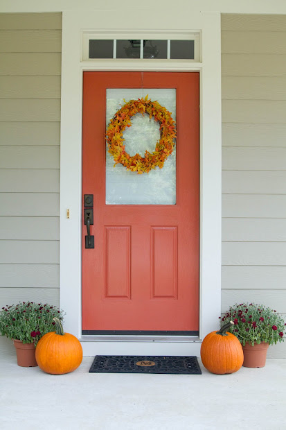 Pinterest Fall Door Decorations