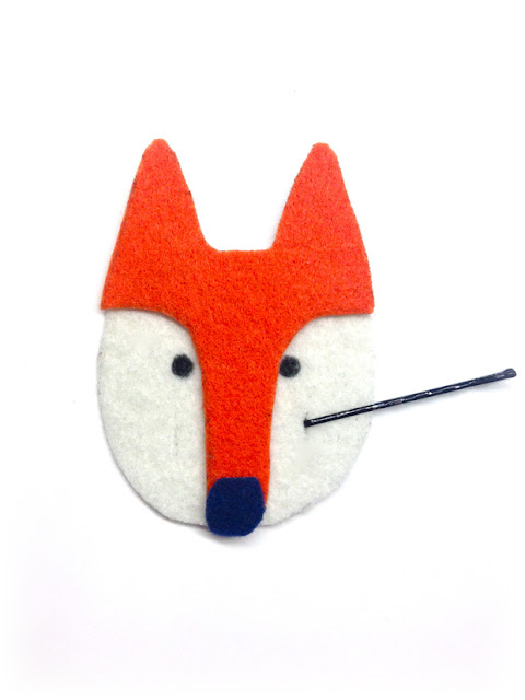 How to make a diy fox bobby pin holder