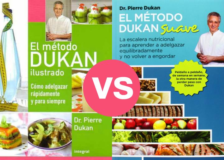 Comparativa y diferencias entre la dieta clásica u original de Dukan y la nueva dieta suave ,la Escalera Nutricional.