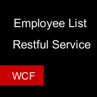 Get Employees list using Jquery Ajax,WCF Restful Service