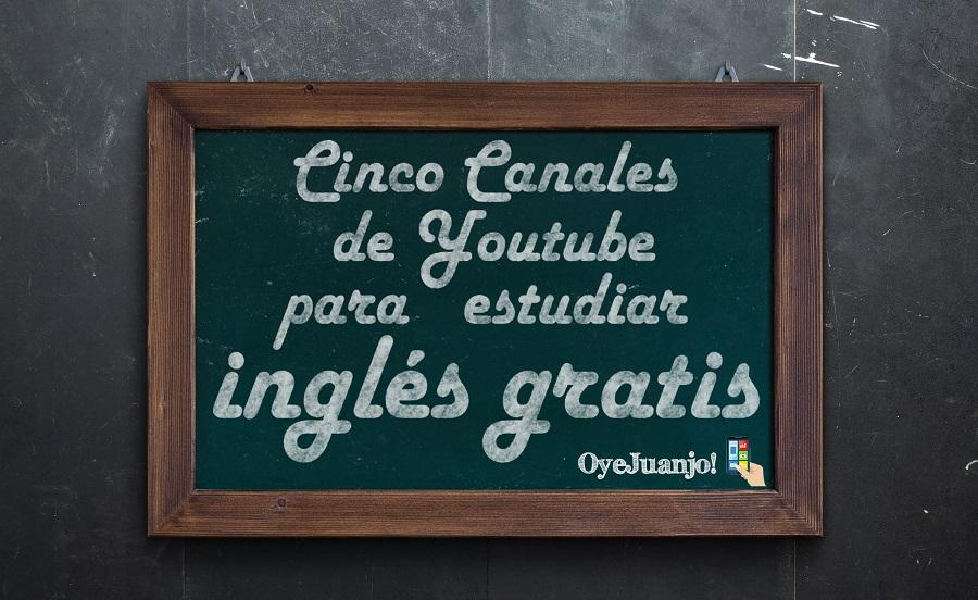 Cinco canales de Youtube para estudiar inglés gratis