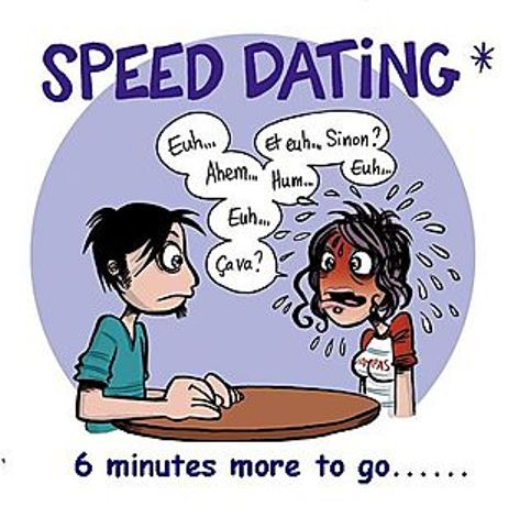 message after speed dating
