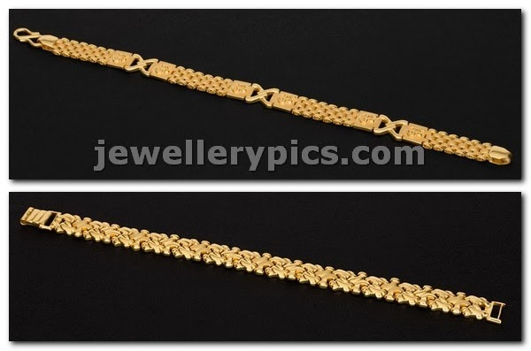 mens jewellery bracelsts gold from avr swarnamahal