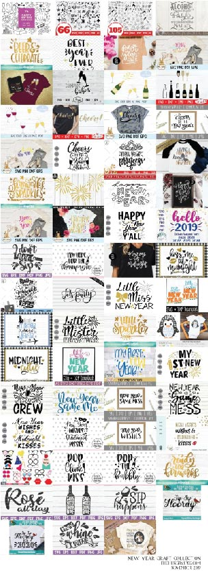 The New Year Craft Collection