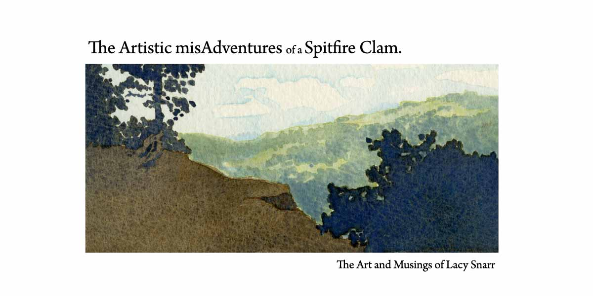 The Artistic misAdventures of a Spitfire Clam