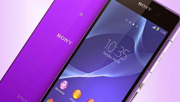 Sony Xperia Z3 Purple spesifikasi