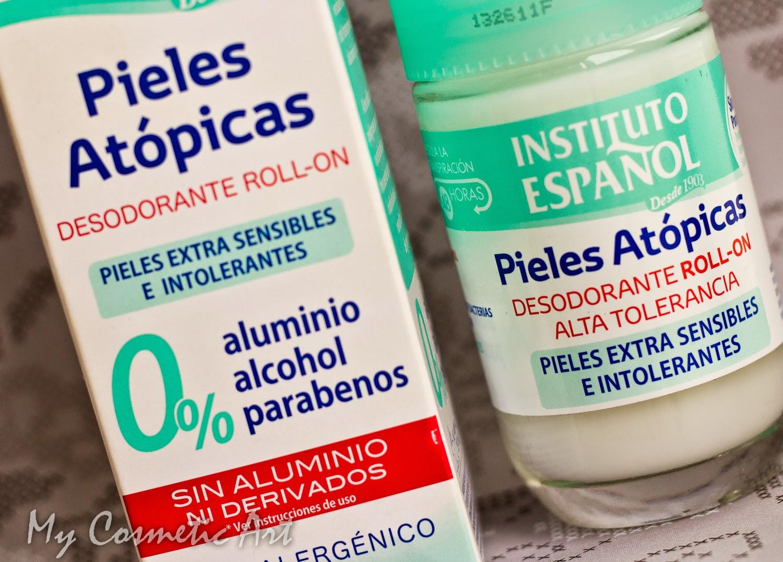 Desodorante sin Aluminio Pieles Atópicas Instituto Español