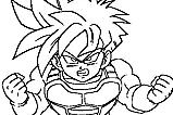Dragon Ball Z para Imprimir