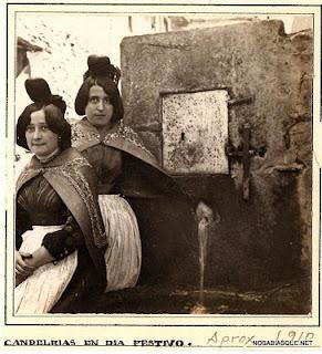 Candelario Salamanca, Candelarias en la fuente de la hormiga, 1910