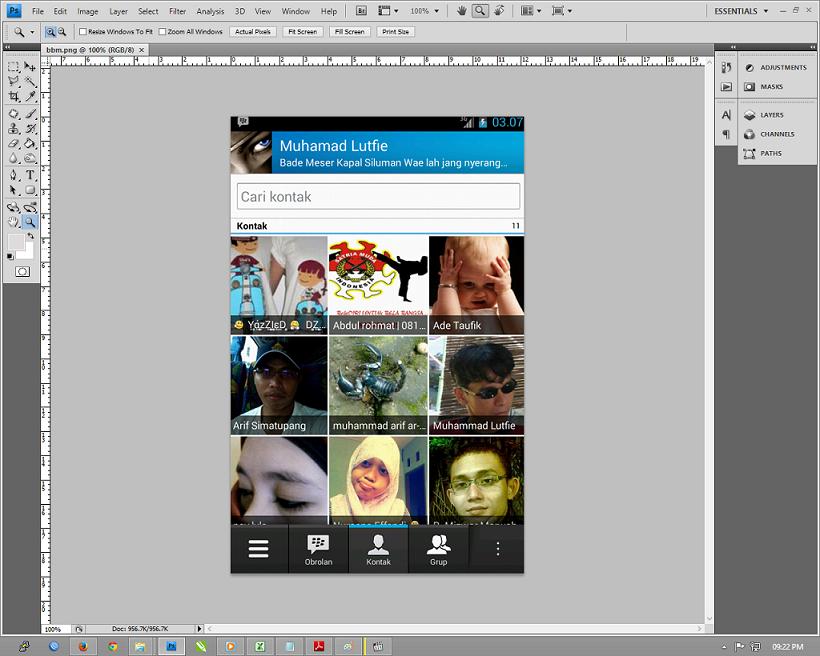 Resize Gambar dengan Adobe Photosop