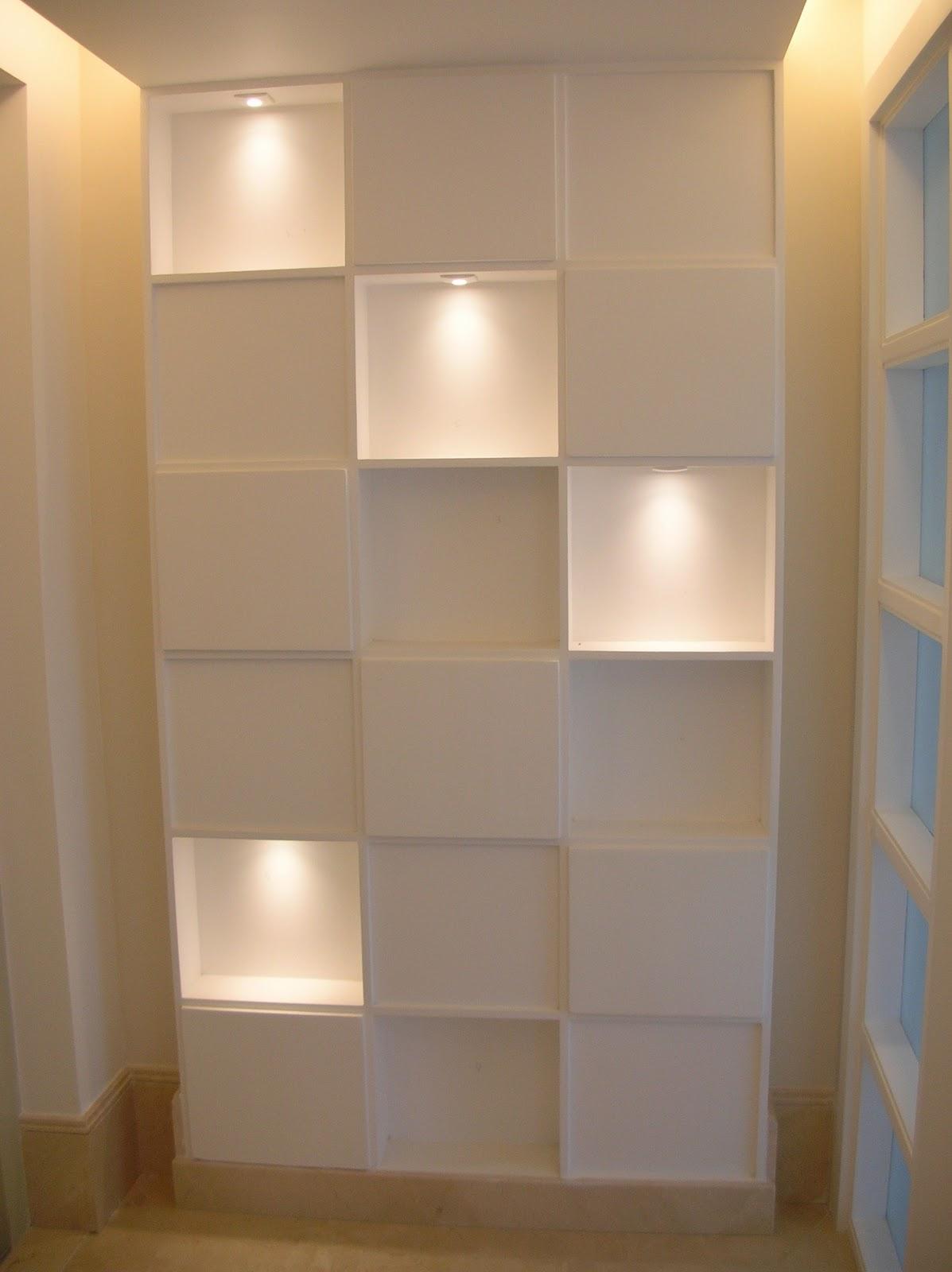 De tudo um pouco por Anita Luna: Nicho com Iluminação #A86C23 1197x1600 Banheiro Com Nicho Como Fazer