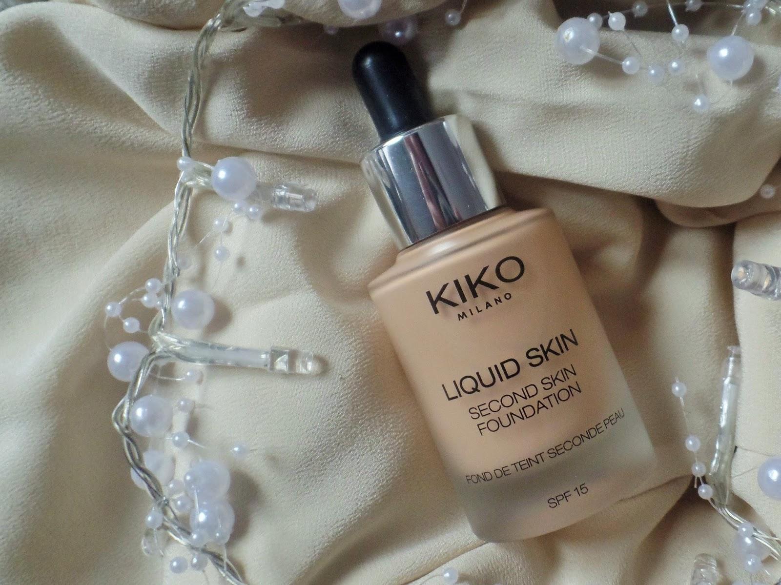 fond de teint kiko peau grasse