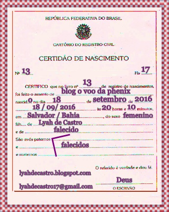 Registro de Nascimento