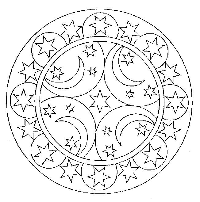 celestial coloring pages - photo#36