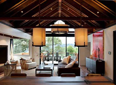 interior rumah kayu minimalis modern 1