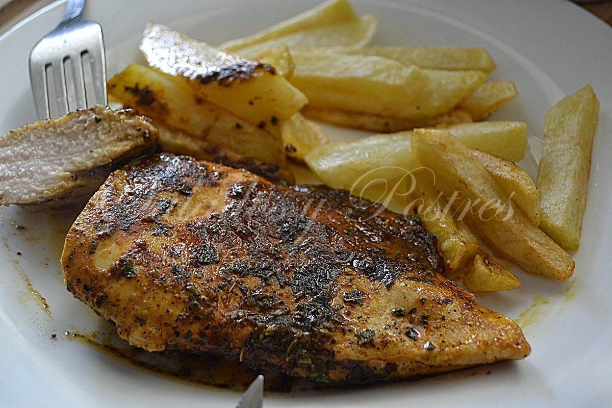 Pollo Jugoso Y Aromático Como El Del Anuncio De La Tele (jugoso A La Sartén)