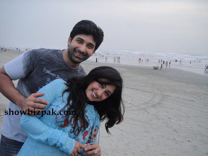 Javeria Abbasi and Her Husband