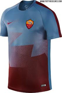 gambar desain terbaru jersey musim depan foto photo kamera Bocoran jersey prematch As Roma akhir musim 2016 di enkosa sport toko online terpercaya lokasi di jakarta pasar tanah abang