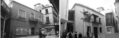 Málaga: Plaza del Museo Thyssen 1990-2011