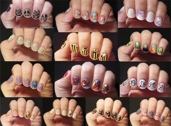 nail art ideias blog Mamãe de Salto ==> todas as imagens retiradas da internet