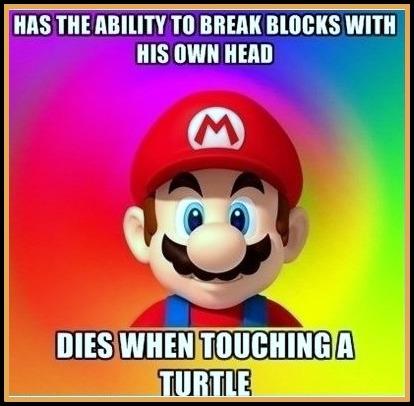 game logic,game logic meme,funny, mario