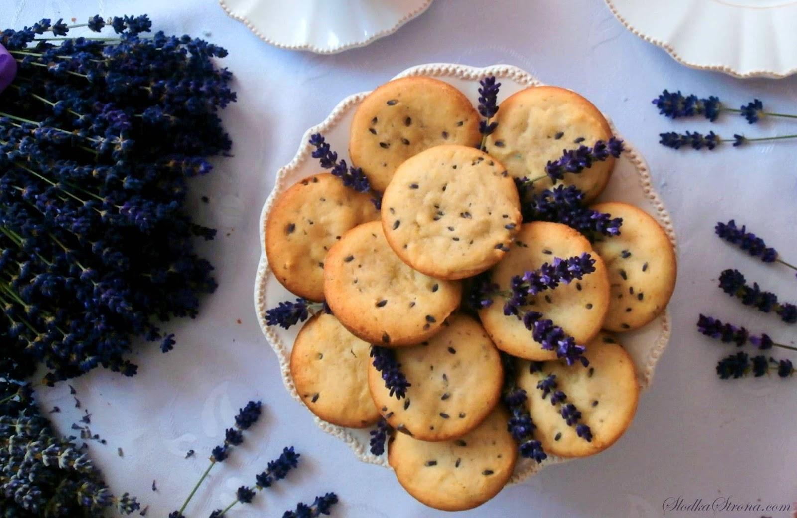 Ciasteczka z Lawendą - Przepis - Słodka Strona