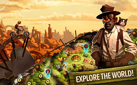 Trials Frontier full apk