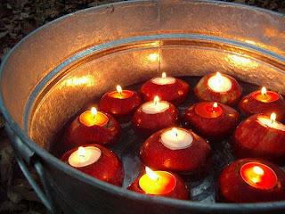 Obuolių žvakės