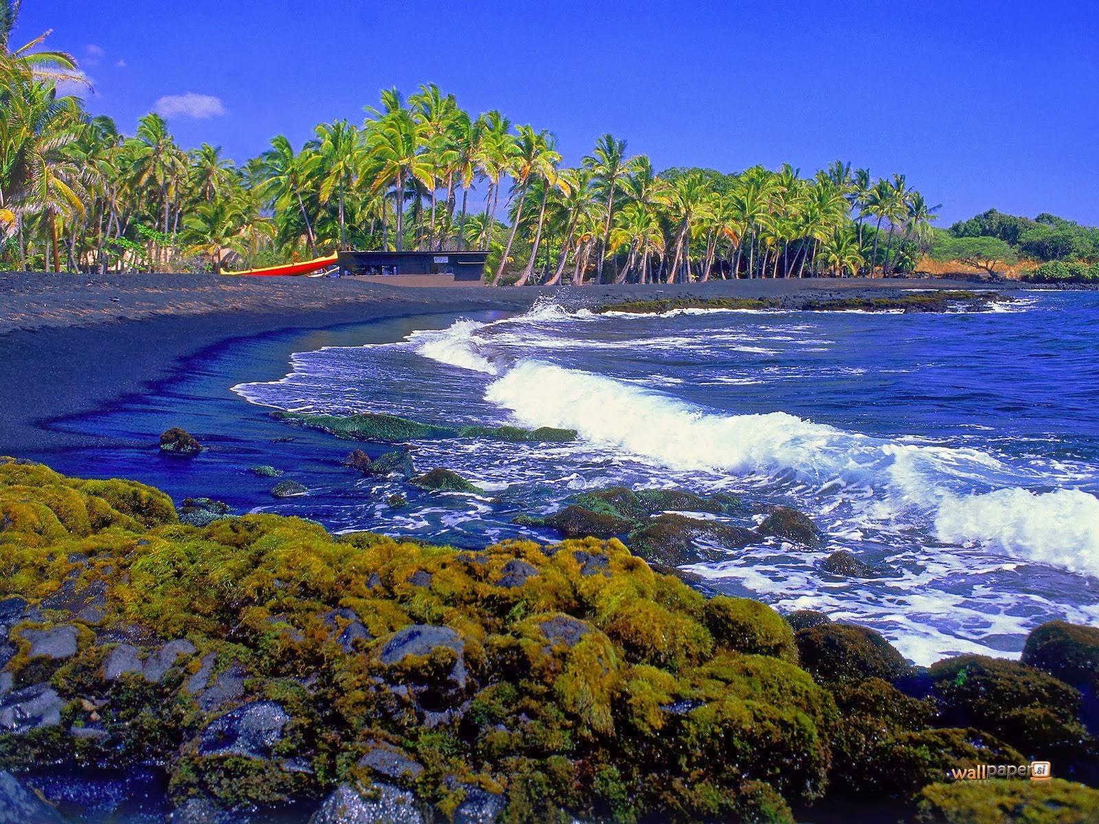 hawaiian island view wallpapers wallpaper view