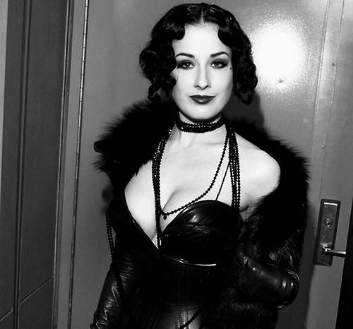 Dita Von Teese Classic Black & White
