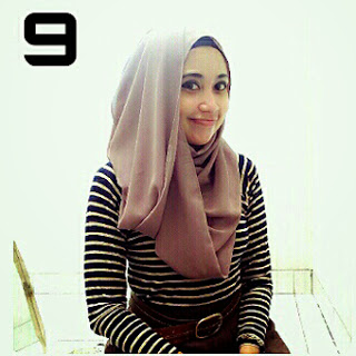Kreasi Hijab Pashmina Shifon Yang Cantik
