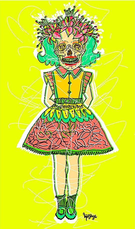 Ilustración de Marcela Orellana Calle