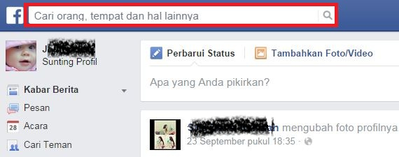 Cara Mencari Teman Lama di Facebook