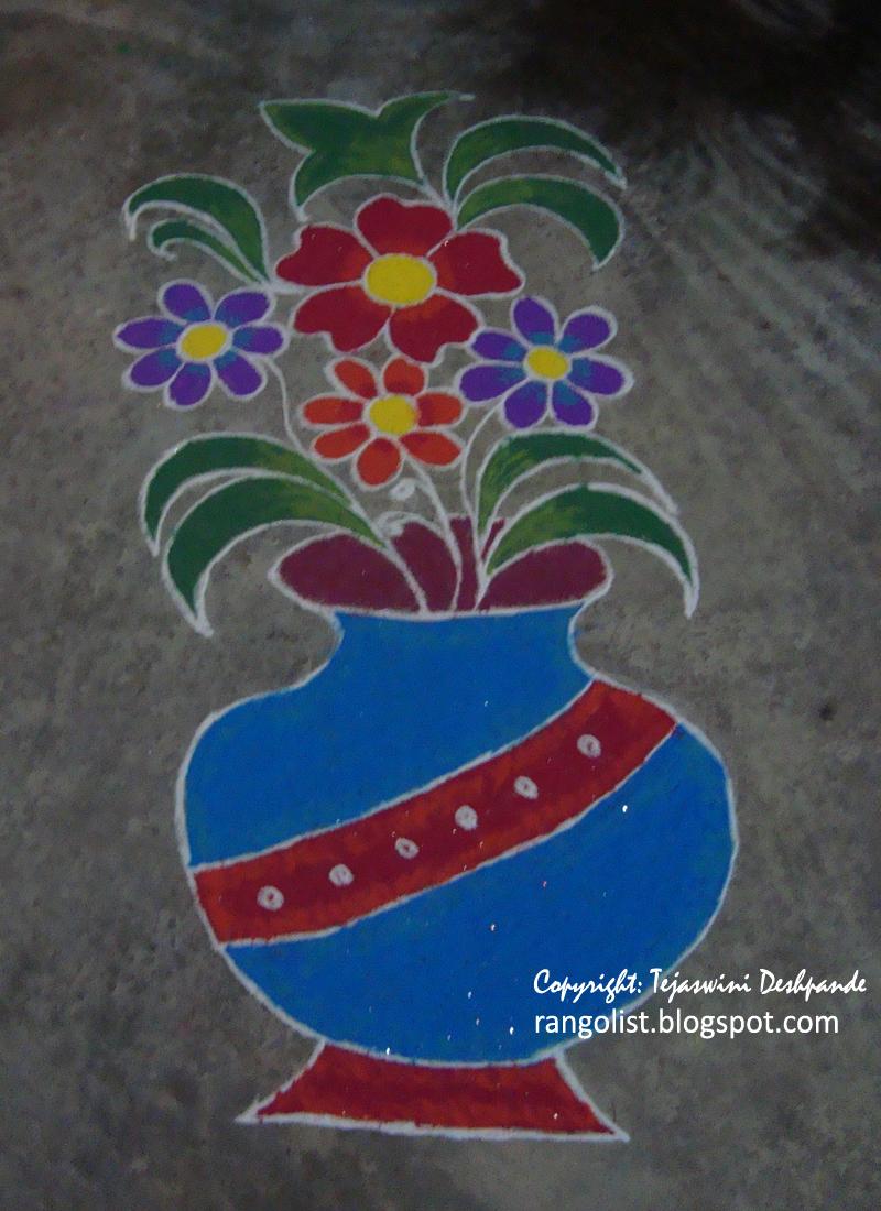 Rangoli Our Culture Through Designs Floral Rangoli Design On