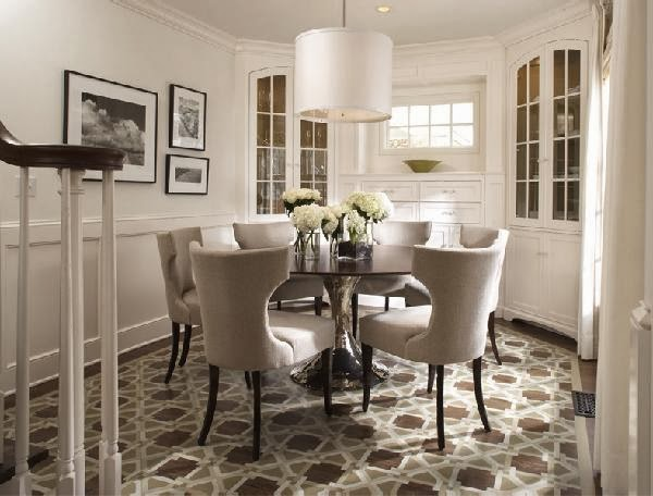 how to decide on round dining room tables