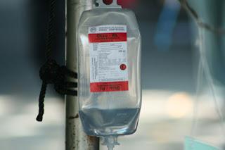 infus adalah salah satu contoh tekanan osmotik dalam kehidupan sehari-hari