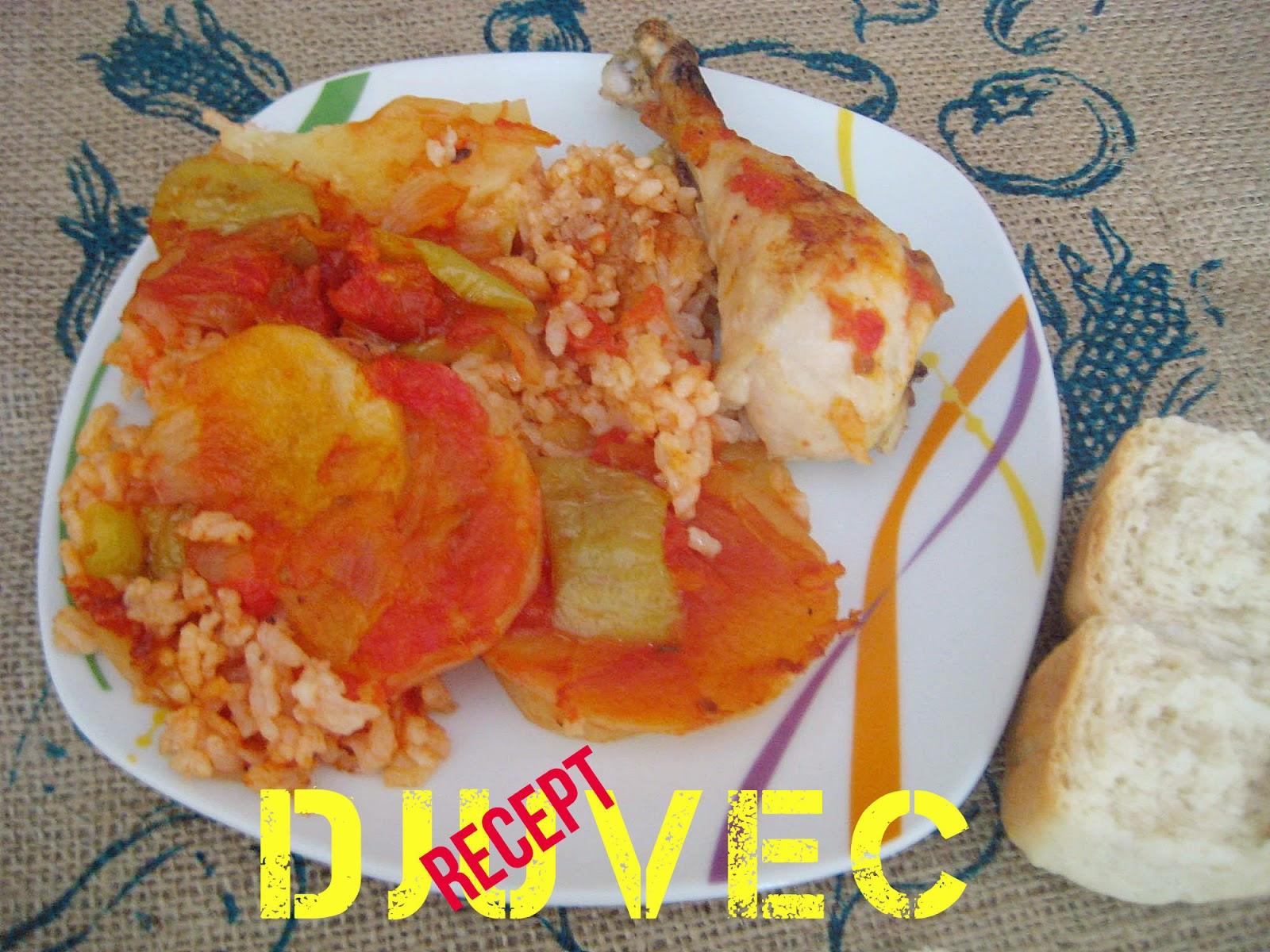 Recept: Đuvec u Pireus gradu