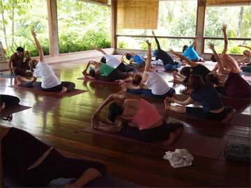 ウブドのヨガスタジオ「Yoga Barn」