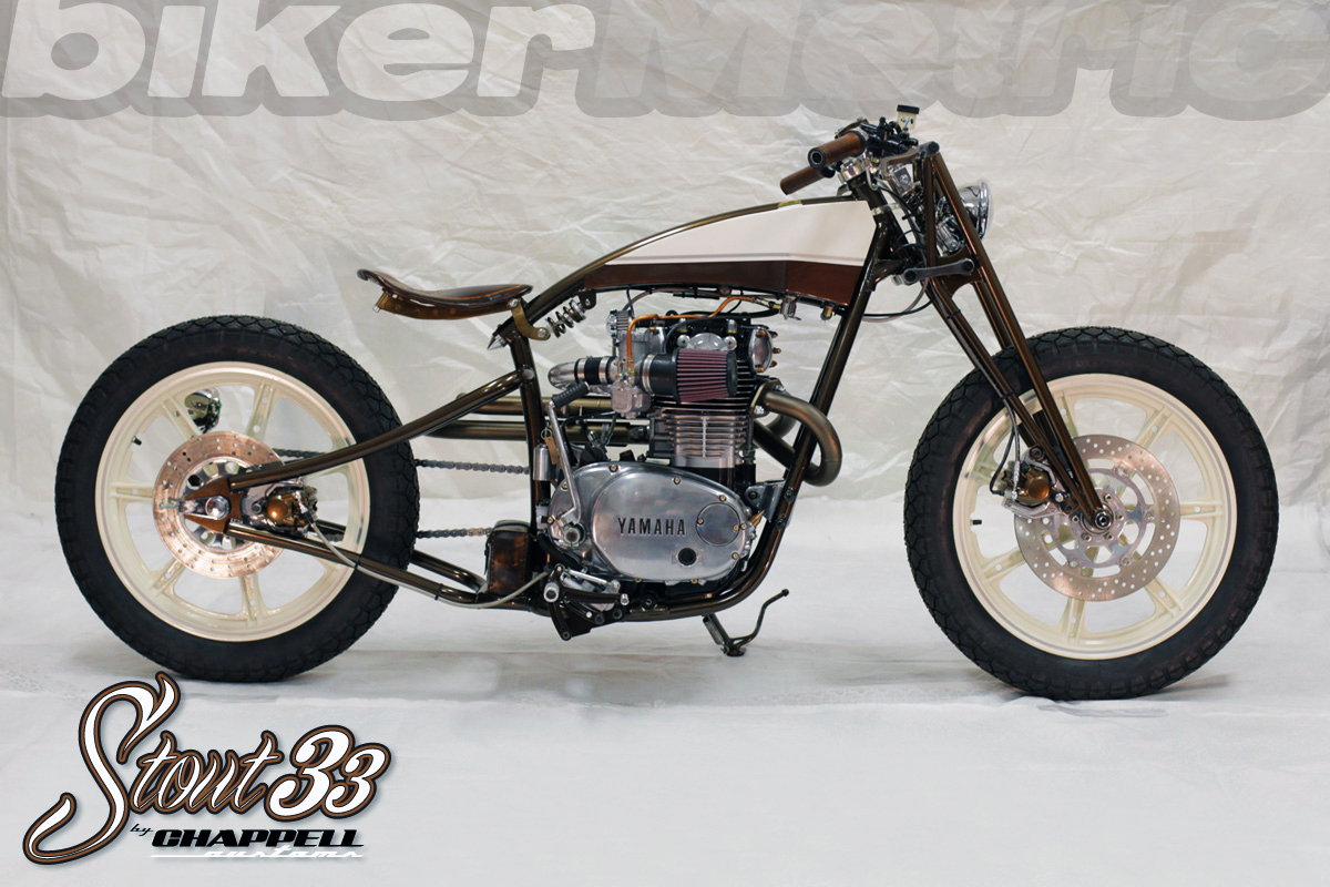 xs650 boardtrack style bobber chappell customs bikermetric. Black Bedroom Furniture Sets. Home Design Ideas