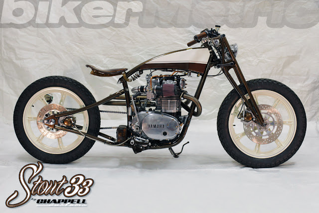 yamaha xs650 boardtracker - stout33 | chappell customs