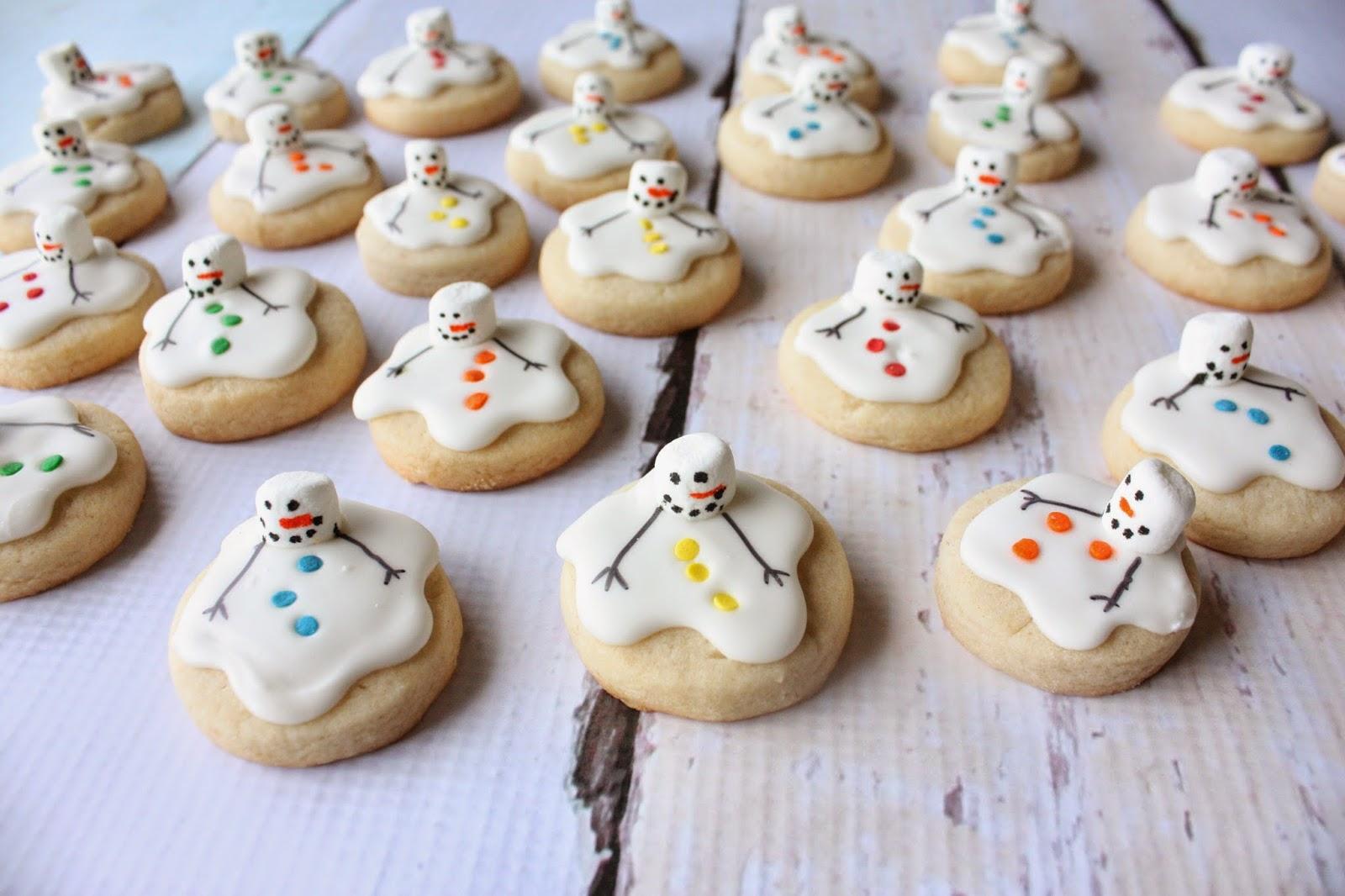 Munchkin Munchies Mini Melting Snowmen Cookies