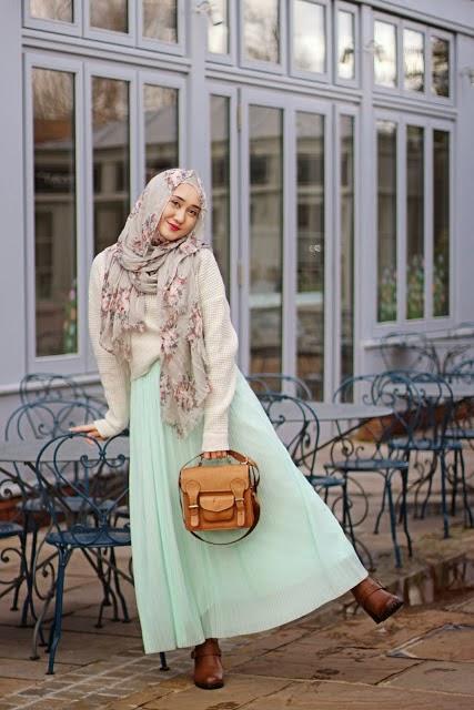 Trend Model Baju Muslim Remaja Gaul Masa Kini Terbaru 2015
